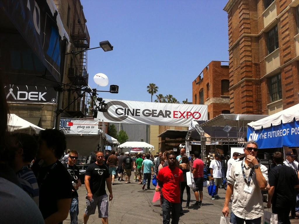 main street at cinegear 2014