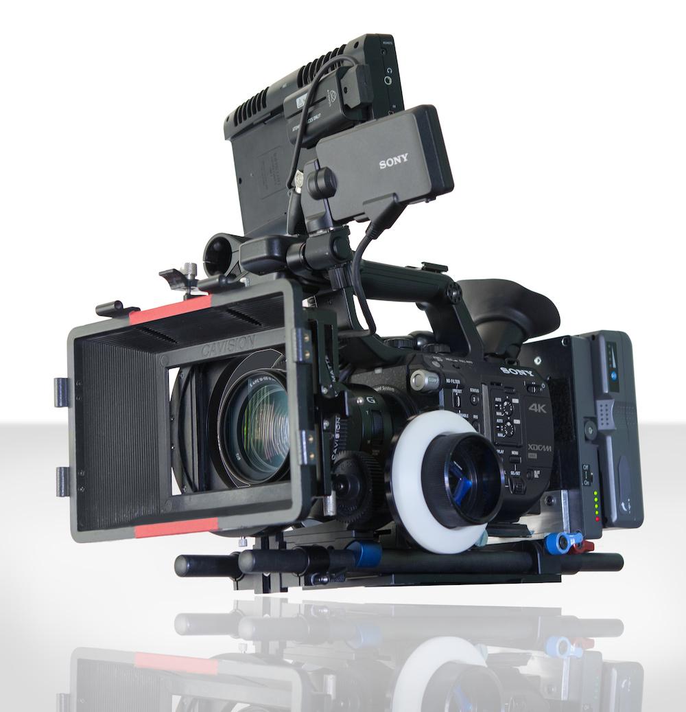 Sony Fs5 camera beauty shot - medium